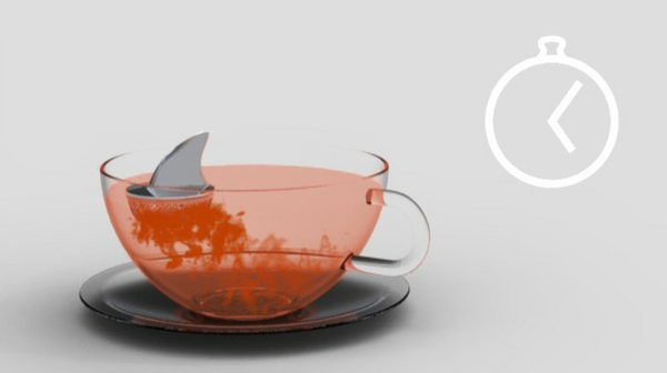 kreative haifisch Dekoideen für Teeei gruselig