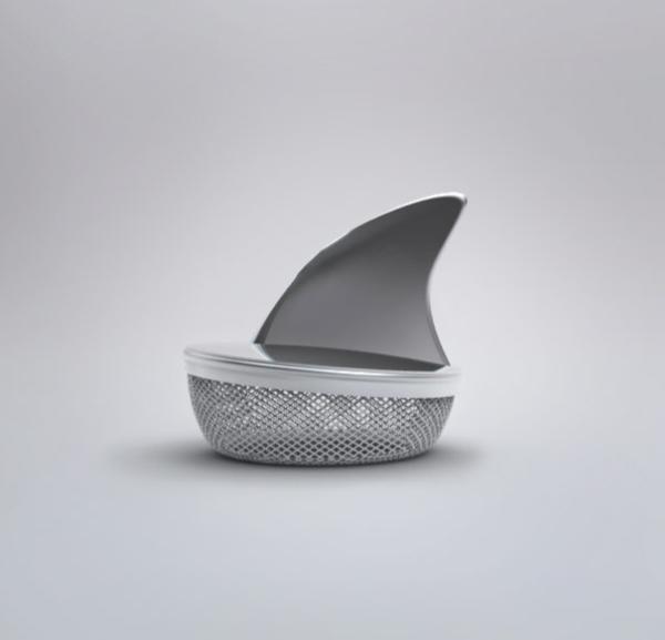 kreative Dekoideen originell Teeei haifisch