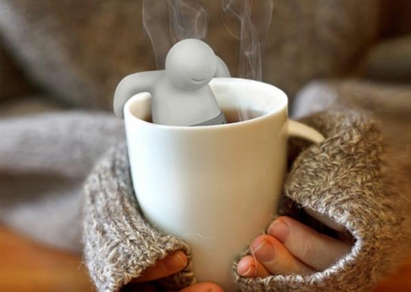 kreative Dekoideen spaß Teeei heißes bad