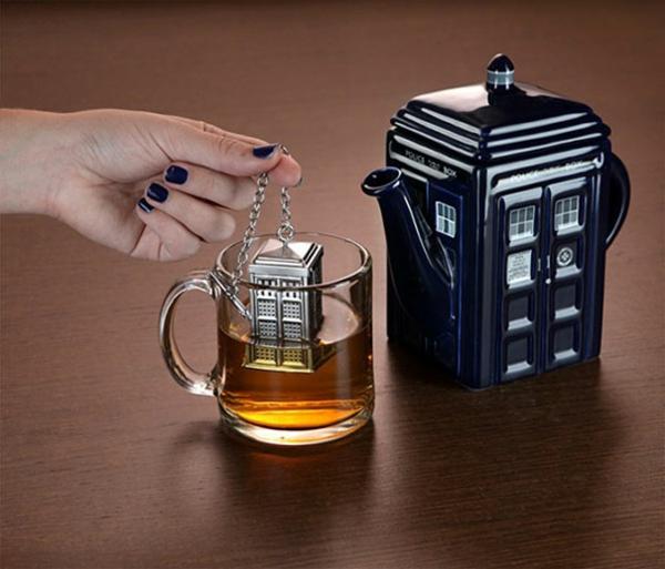 kreative Dekoideen britisch stil Teeei telephone