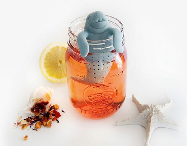 kreative Dekoideen glas Teeei toll seehund