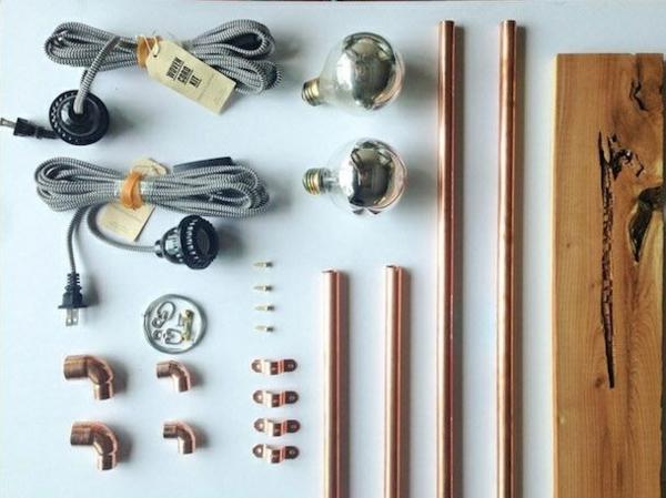 ... bastelideen do it yourself ideen wandlampe selber bauen materialien