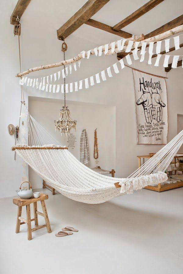 wohnzimmer holzmöbel:landhausstil wohnzimmer rustikale möbel hängematten holzmöbel