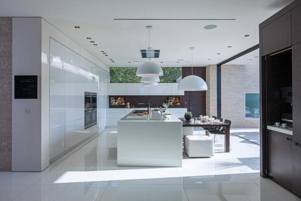 metod küchen weiß hängeleuchten