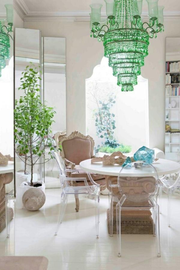 moderne esszimmer stühle esstische küche esszimmer glas kronleuchter