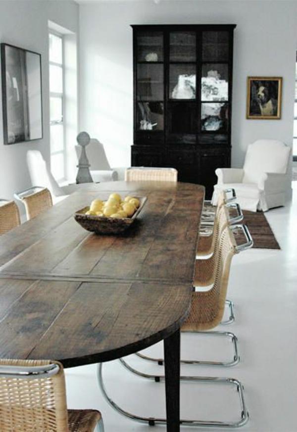 40 moderne esszimmerst hle die dem raum ein cooles aussehen verleihen. Black Bedroom Furniture Sets. Home Design Ideas