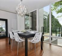 40 moderne Esszimmerstühle , die dem Esszimmer ein elegantes Aussehen verleihen