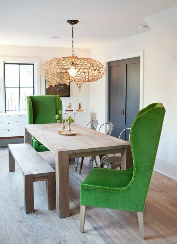 grün samt esszimmerstühle esstische küche esszimmer polsterung