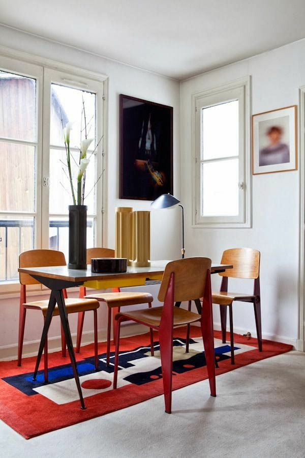 fensterrahmen holz esszimmer stühle esstische küche esszimmer rot teppich