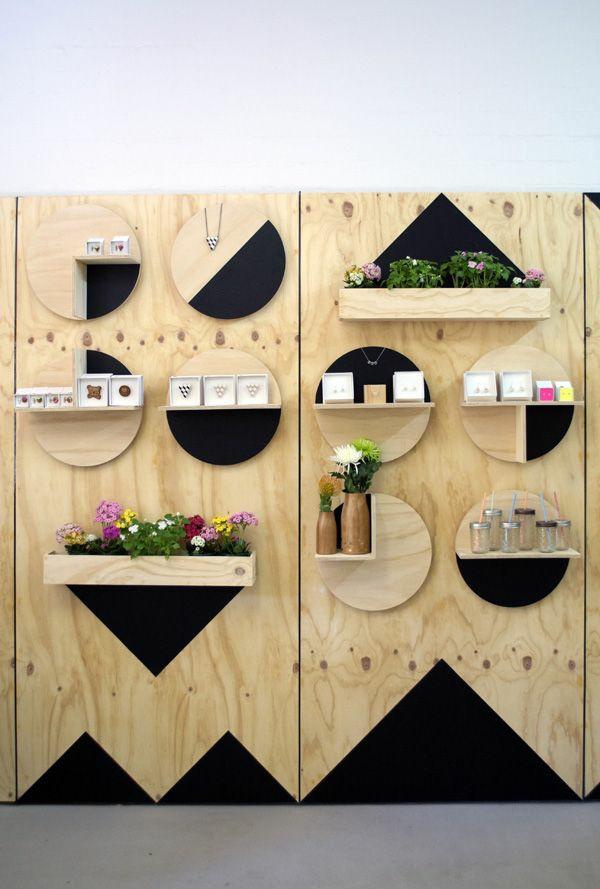 moderne holzmöbel holz regal bauen minimalistisch naturholz
