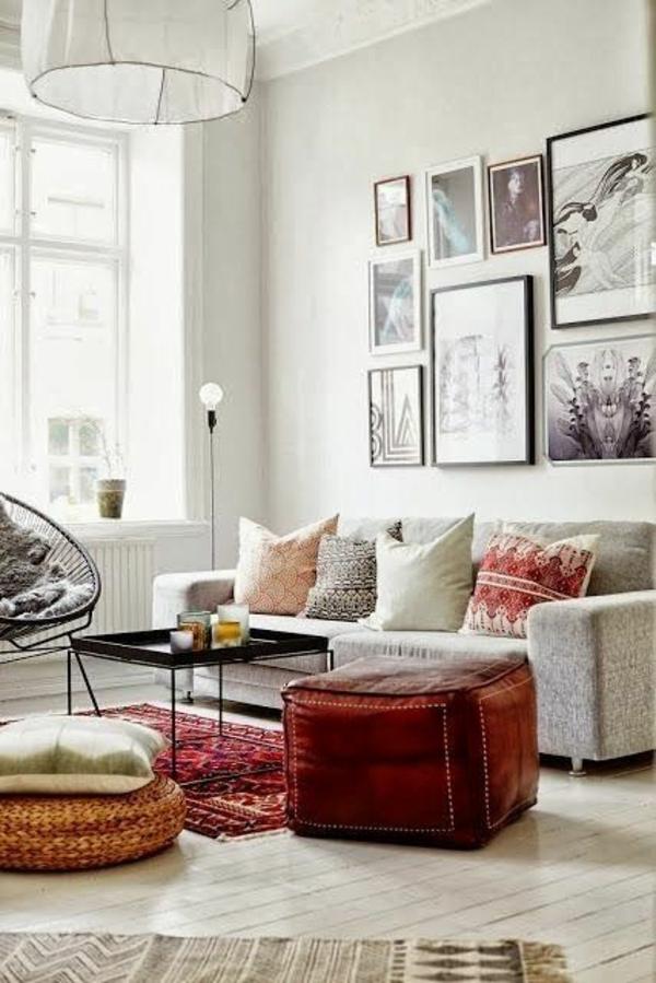 moderne Wohnzimmereinrichtung Ideen stylisch tipps designer