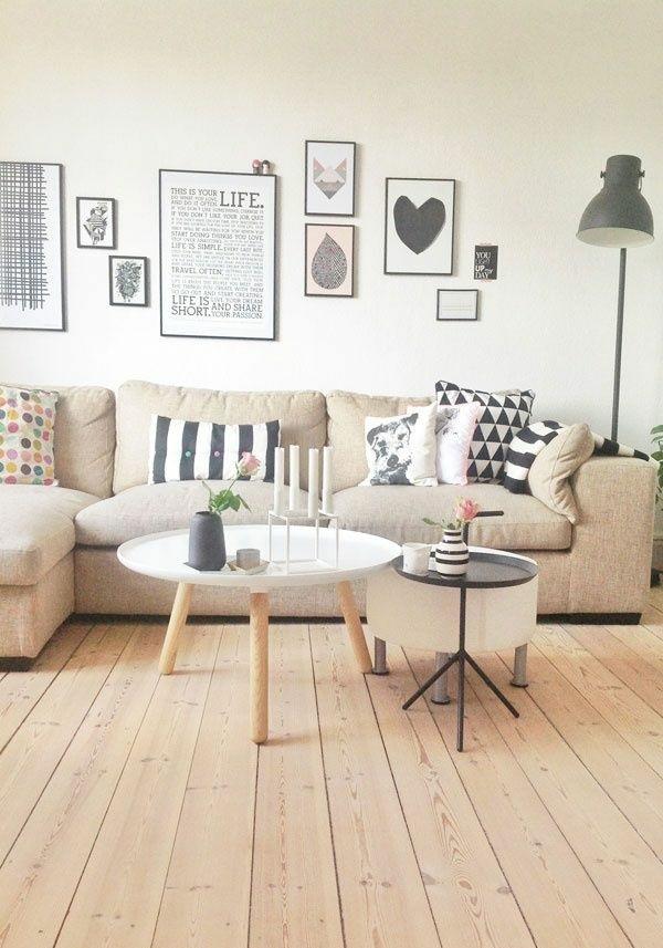 moderne wohnzimmergestaltung stylisch tipps holz