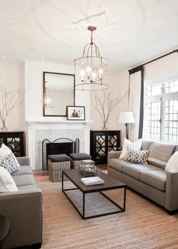 moderne wohnzimmergestaltung stylisch tipps möbel