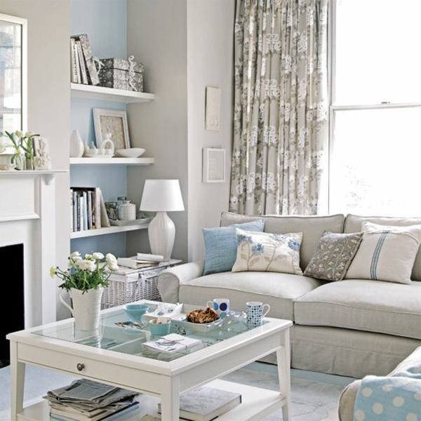 moderne wohnzimmergestaltung stylisch tipps sofa tisch