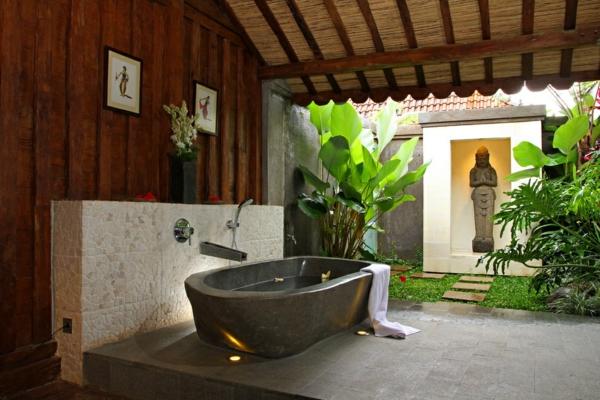 modernes badezimmer ideen asiatisches flair