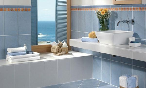 modernes badezimmer ideen meeresblick - Moderne Badezimmer Trkis