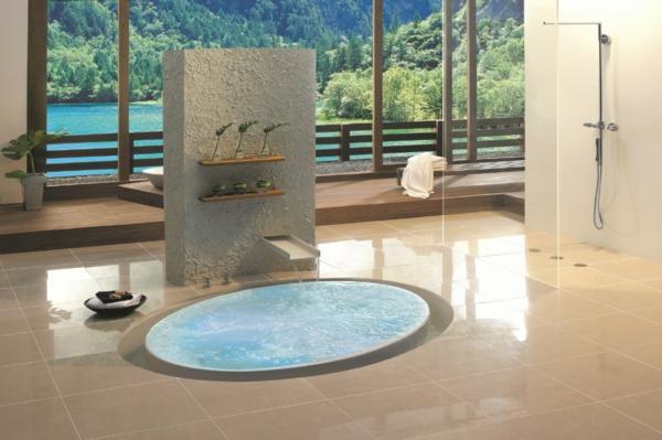 modernes badezimmer ideen minimalistisch