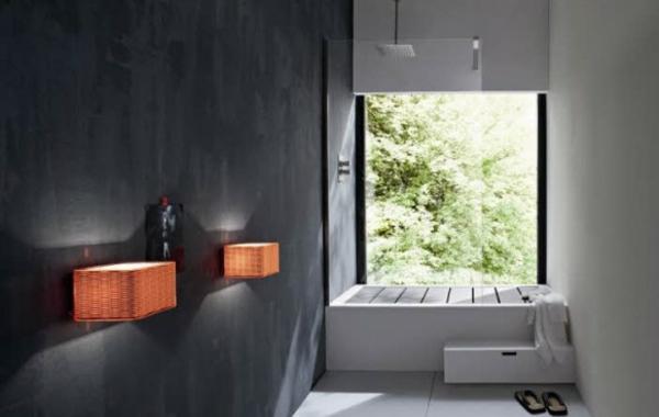 modernes badezimmer ideen puristisch
