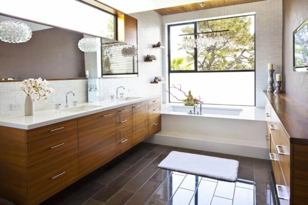 modernes badezimmer ideen zen asiatisch