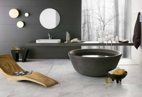 modernes badezimmer ideen zen