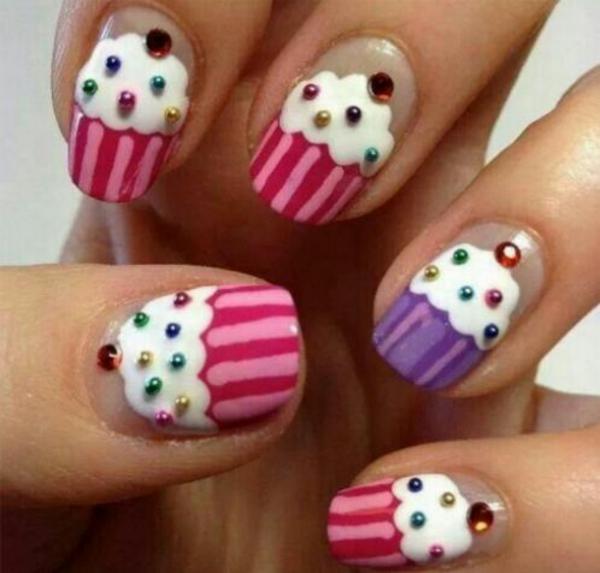 Nageldesign muster wie sie fingern gel designs selber machen for Nagellack designs