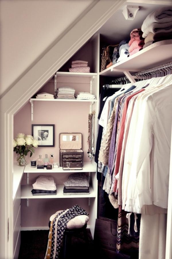Offener Kleiderschrank In Kleinem Zimmer ~ offener kleiderschrank selber bauen dachschräge
