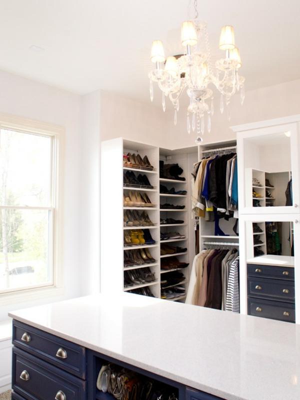 offener kleiderschrank selber bauen weiß glanz