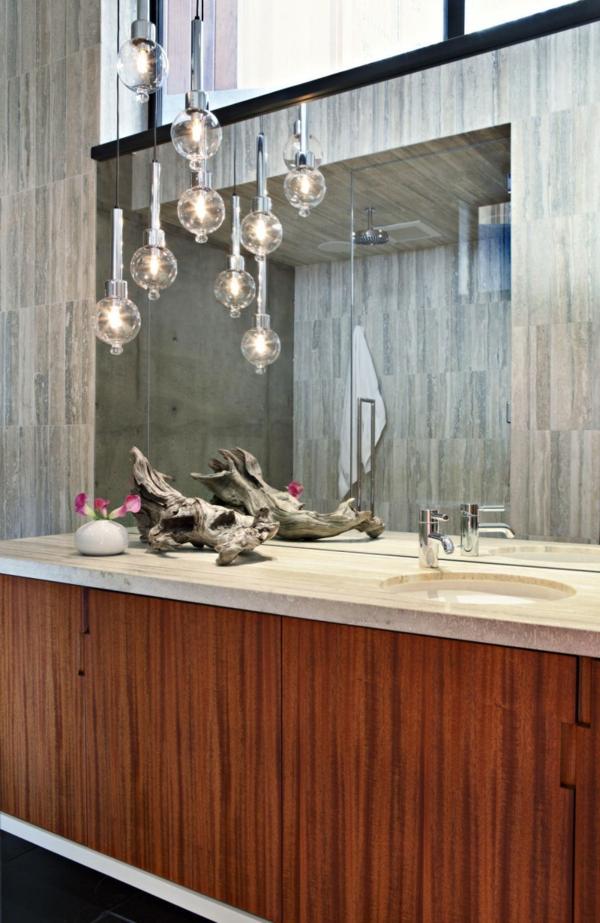 pendelleuchten glühbirnen badezimmer