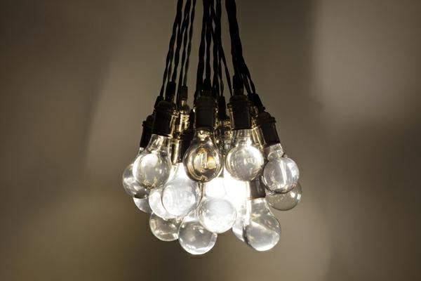 pendellampen glühbirnen gebündelt