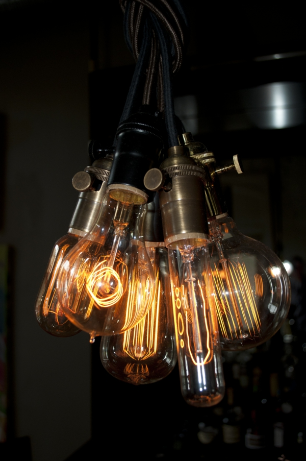 pendelleuchten glühbirnen industriestil