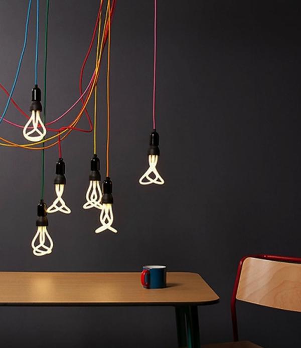 pendellampen glühbirnen modern