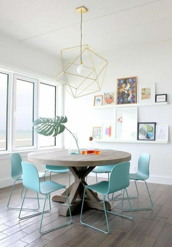 pendellampen modern led hängeleuchte geometrisch lampenschirm ecke
