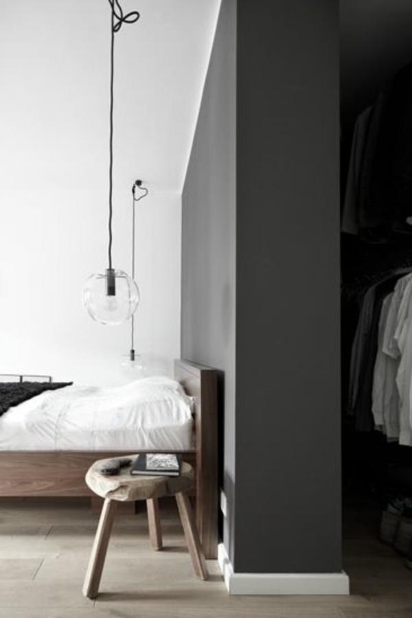 pendellampen modern led hängeleuchte schlafzimmerwand