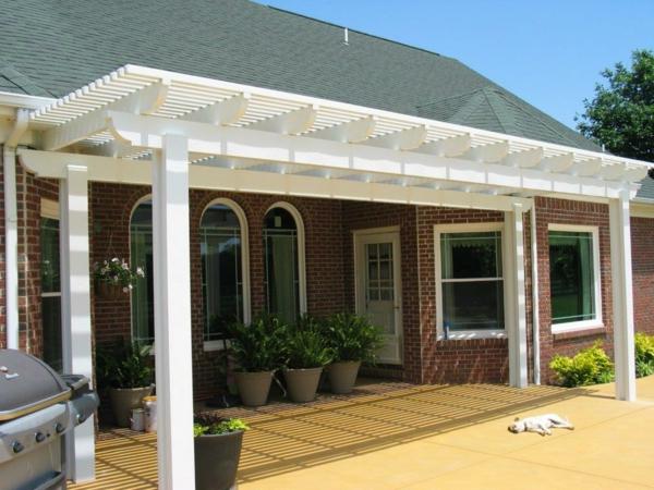 Pergola Dach pergoladach terrassenüberdachung praktische ratschläge und ideen