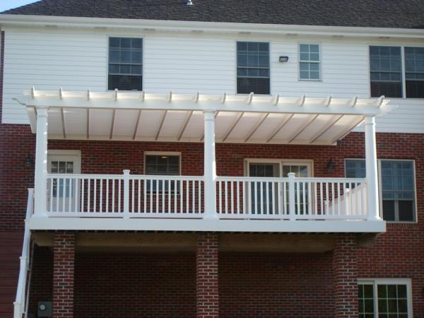 pergoladach terrassenüberdachung balkon