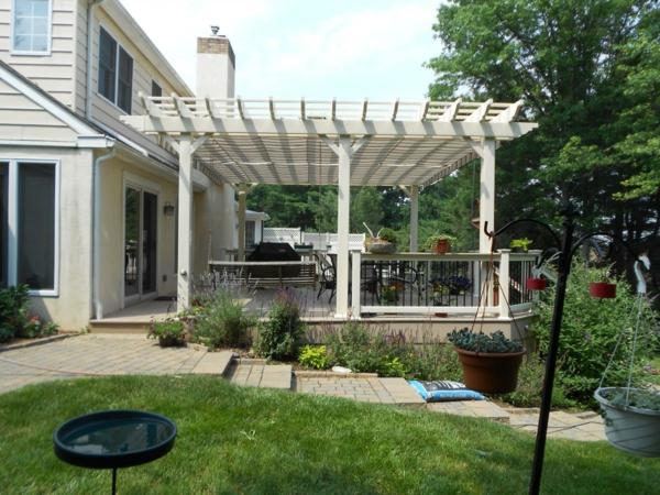 TerrassenUberdachung Holz Weis ~ Pergoladach Terrassenüberdachung – praktische Ratschläge und Ideen