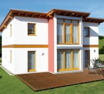 Pultdachkonstruktion bei Gartenhäusern mit vorgefertigten Teilen
