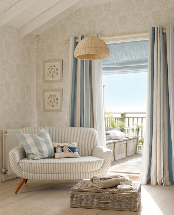 rattan lounge möbel korbkiste couchtisch sofa pendelleuchte lampenschirm aus rattan