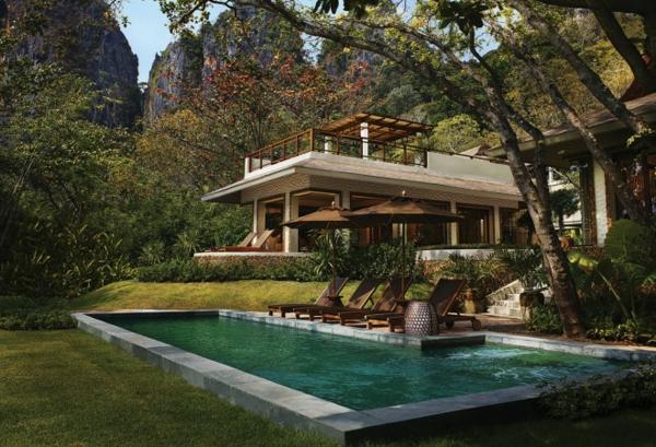 rayavadee krabi hotel exotisch pool