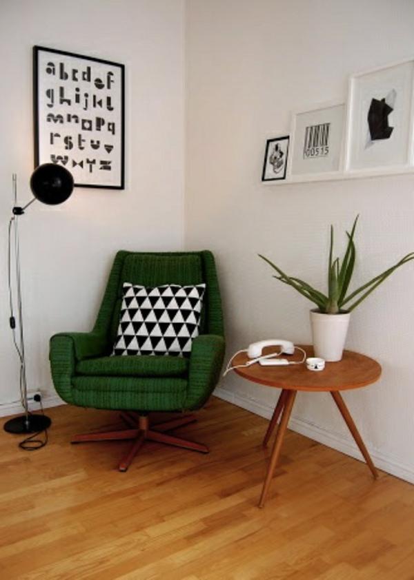 retro-möbel einrichtung wohnen kissen sessel