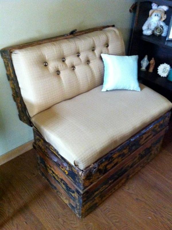 retro möbel einrichtung wohnen truhe sofa