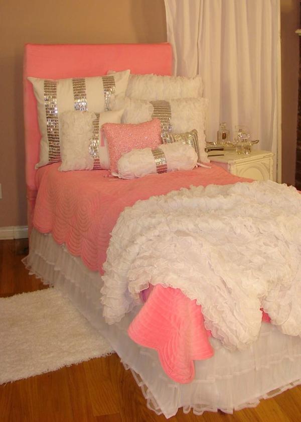 schlafzimme silber glanz