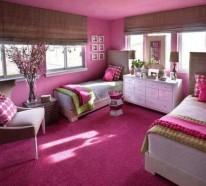 Rosa Schlafzimmer – welche Vorteile und Nachteile könnte man haben