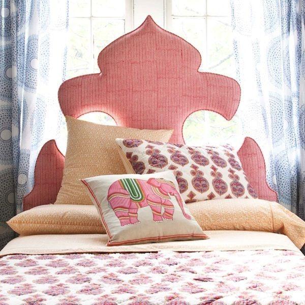 rosa schlafzimmer elefant kissen