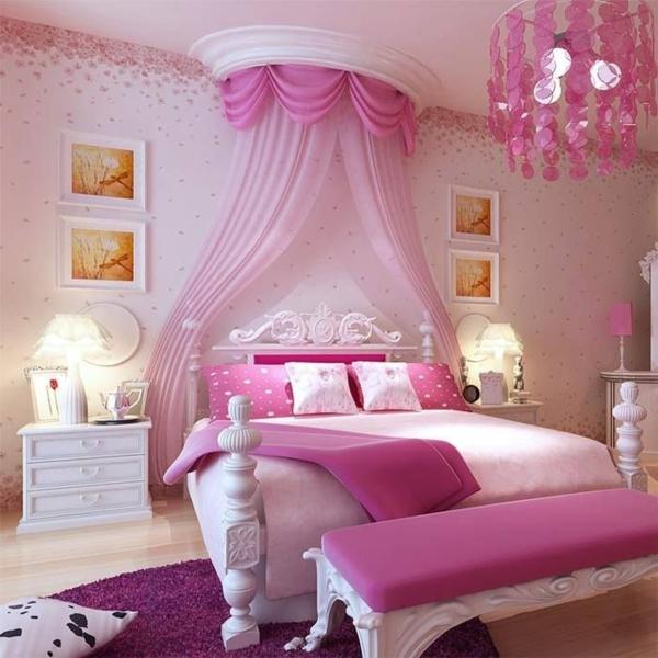 rosa schlafzimmer - welche vorteile und nachteile könnte man haben - Schlafzimmer Pink Weis