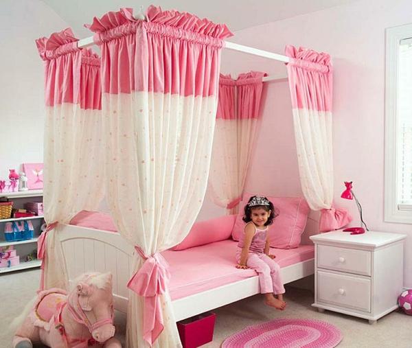 rosa schlafzimmer mädchenzimmer