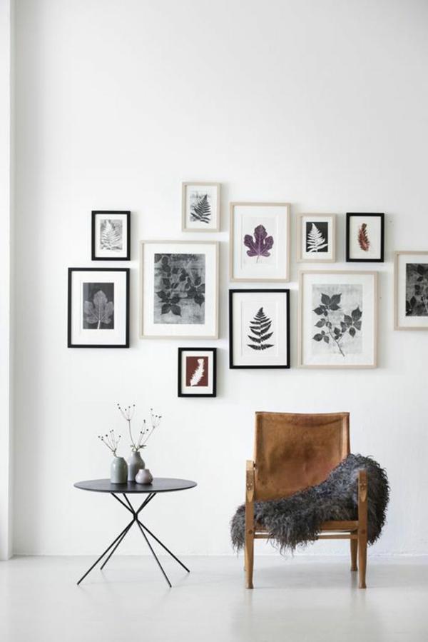 rustikale einrichtungsideen wohnzimmer landhausstil wandgestaltung ideen