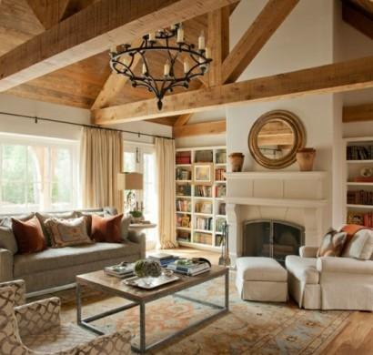 Das wohnzimmer rustikal einrichten ist der landhausstil for Rustikale einrichtung