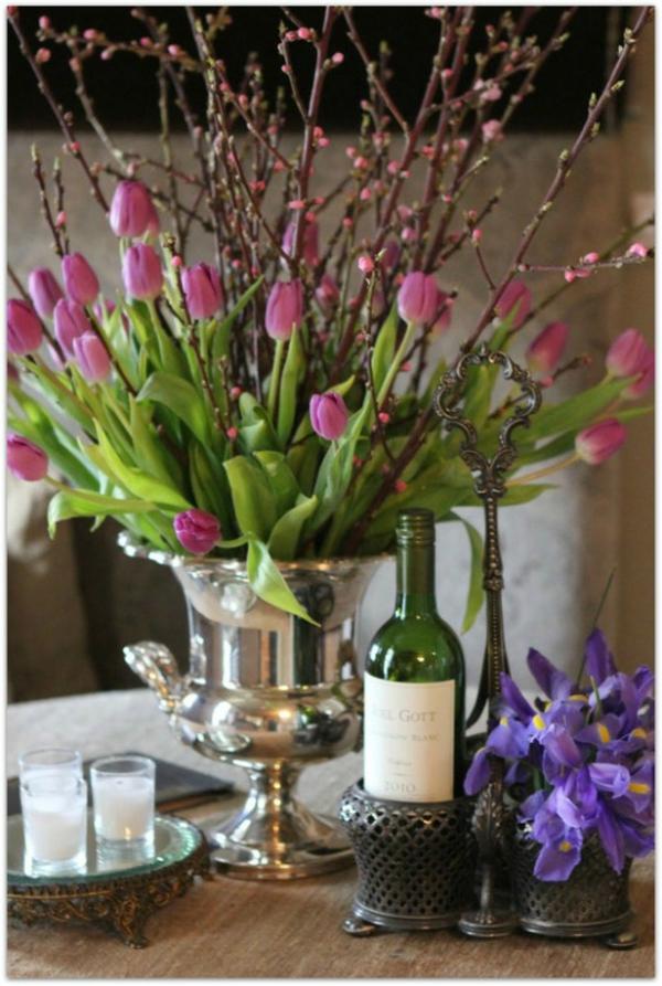 Tischdeko Mit Tulpen Festliche Tischdeko Ideen Mit