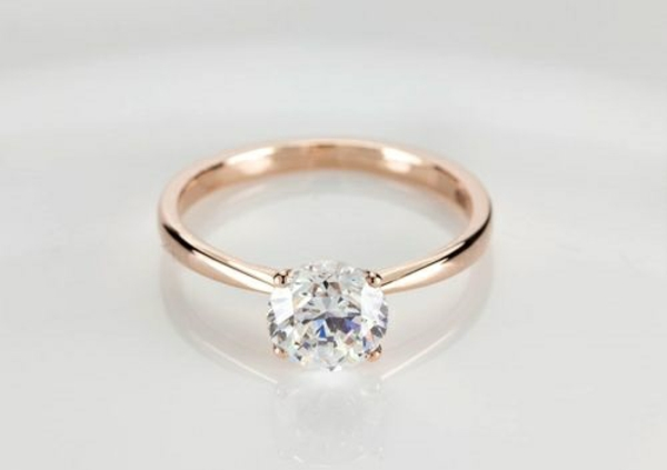 Diamantring rotgold  Schöner Verlobungsring - stellen Sie die Frage aller Fragen